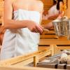 Gesundes Schwitzen in der Sauna