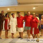 Saunafest Debrecen – Tag 1 des Wettbewerbes: Teamaufguss