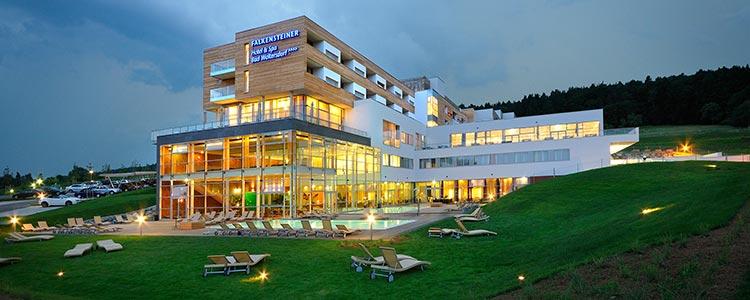 Der Austragungsort: Hotel Falkensteiner Bad Waltersdorf