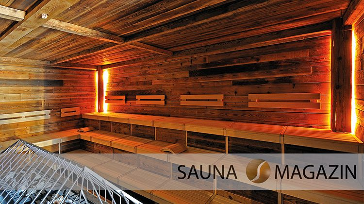Die Erdsauna, eine besonders heiße Sauna
